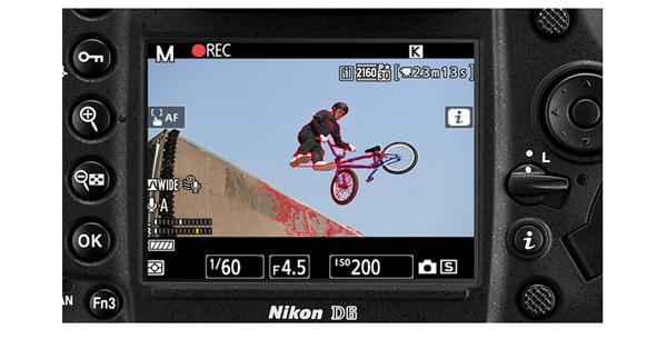 LCD Nikon D6