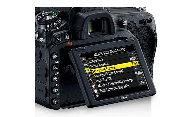 Layar Nikon D750