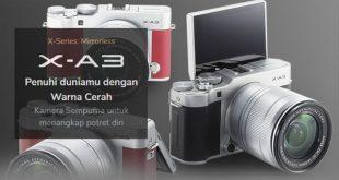 Spesifikasi Fujifilm XA3