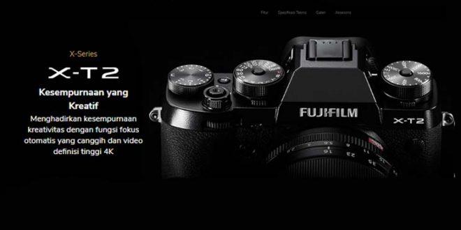 Spesifikasi Fujifilm XT2