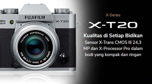 Spesifikasi Fujifilm XT20