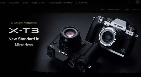 Harga Kamera Fujifilm XT3