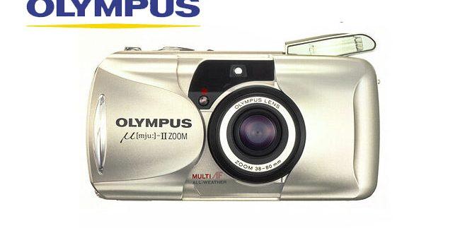 Olympus MJU Zoom 105 Kemera Analog Olympus