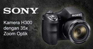 Sony DSC H300 Spesifikasi