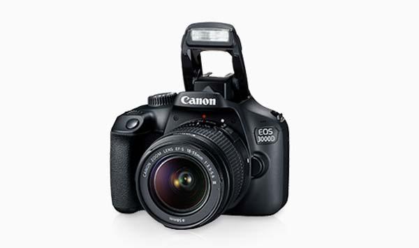 Kamera Canon 3000D