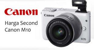 Harga Second Kamera Mirrorless Canon M10